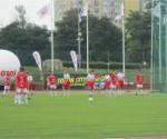 Segundo partido, frente a Olimpia Toronto