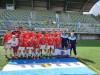Polonia FC en el podio